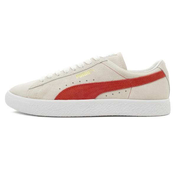 スニーカー プーマ PUMA スウェード90681 ホワイト/オレンジ メンズ レディース シューズ 靴 18FA pistacchio 02