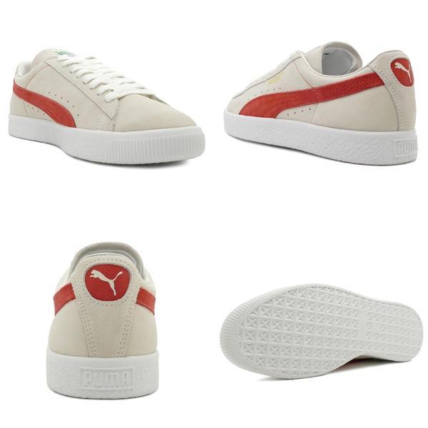 スニーカー プーマ PUMA スウェード90681 ホワイト/オレンジ メンズ レディース シューズ 靴 18FA pistacchio 03