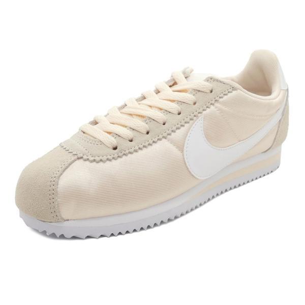 スニーカー ナイキ NIKE ウィメンズクラシックコルテッツナイロン グアバアイス/ホワイト メンズ レディース シューズ 靴 18FA|pistacchio