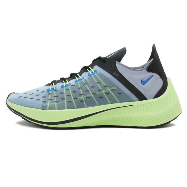 スニーカー ナイキ NIKE EXP-X14 ブルー/グレー/ブラック/ボルト メンズ レディース シューズ 靴 18FA|pistacchio|02