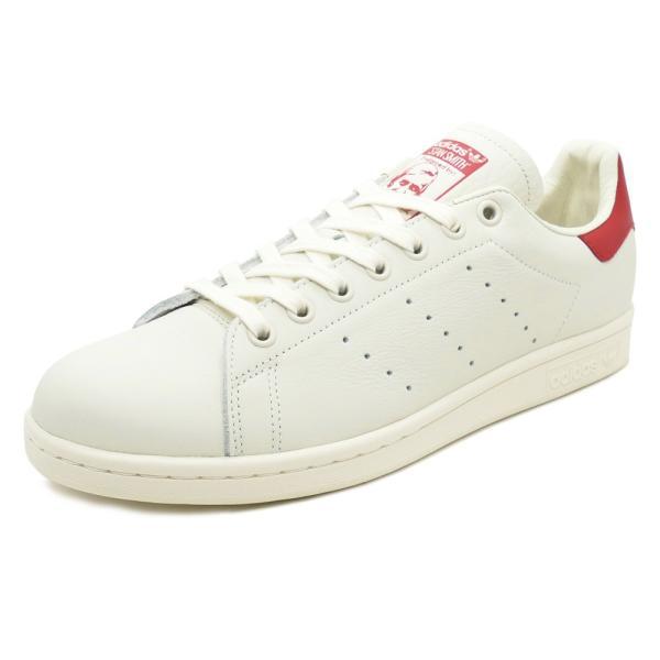 adidas Originals STAN SMITH アディダス オリジナルス スタンスミス チョークホワイト/チョークホワイト/スカーレット B37898 18FW|pistacchio