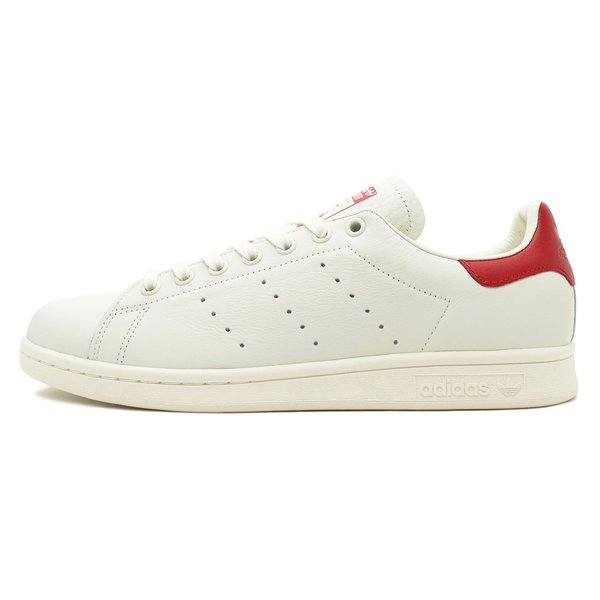 adidas Originals STAN SMITH アディダス オリジナルス スタンスミス チョークホワイト/チョークホワイト/スカーレット B37898 18FW|pistacchio|02
