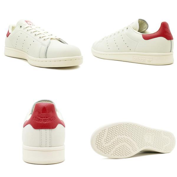 adidas Originals STAN SMITH アディダス オリジナルス スタンスミス チョークホワイト/チョークホワイト/スカーレット B37898 18FW|pistacchio|03