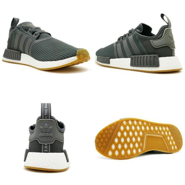 スニーカー アディダス adidas NMD R1 グレー/ブラック メンズ レディース シューズ 靴 18FW|pistacchio|03