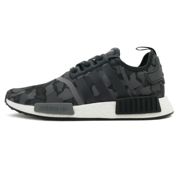 スニーカー アディダス adidas エヌエムディーR1 ブラック カモ メンズ レディース シューズ 靴 18FW|pistacchio|02