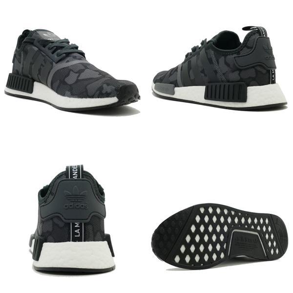 スニーカー アディダス adidas エヌエムディーR1 ブラック カモ メンズ レディース シューズ 靴 18FW|pistacchio|03