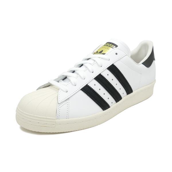 adidas Originals SUPER STAR 80s【アディダス オリジナルス スーパースター80s】white/black ホワイト/ブラック G61070|pistacchio
