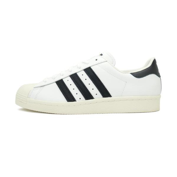 adidas Originals SUPER STAR 80s【アディダス オリジナルス スーパースター80s】white/black ホワイト/ブラック G61070|pistacchio|02