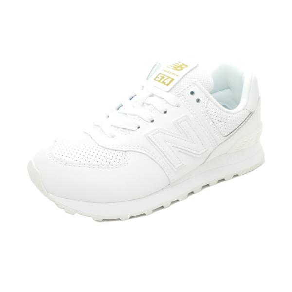 スニーカーニューバランスNEWBALANCEWL574SYIホワイトWL574-SYINBレディースシューズ靴
