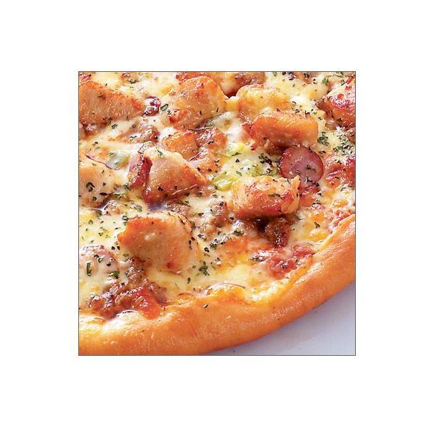 ピザ 冷凍ピザ スパイシーチキンピザ(香辛料のきいたチキンとソーセージの合体!)職人の手作り ピザ生地 ピザ・シティーズ チーズ トマト