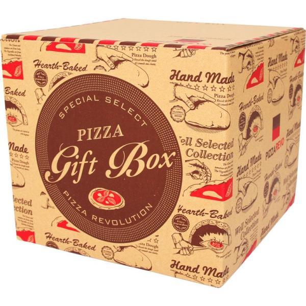 ギフトボックス ※ピザは含まれません。(箱サイズ:ピザ7枚ぐらいまで入ります。)