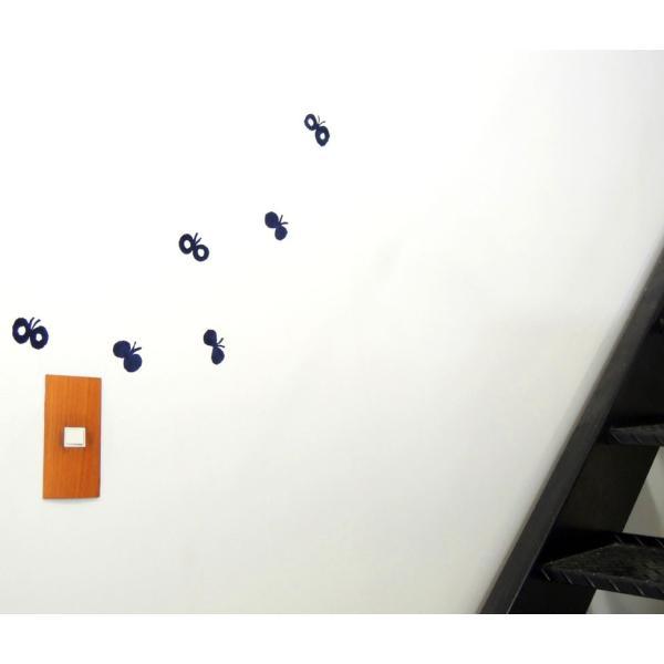 ウォールステッカー mina perhonen ミナペルホネン(花の羽)皆川明 北欧雑貨 インテリアステッカー ナチュラル ギフトプレゼント