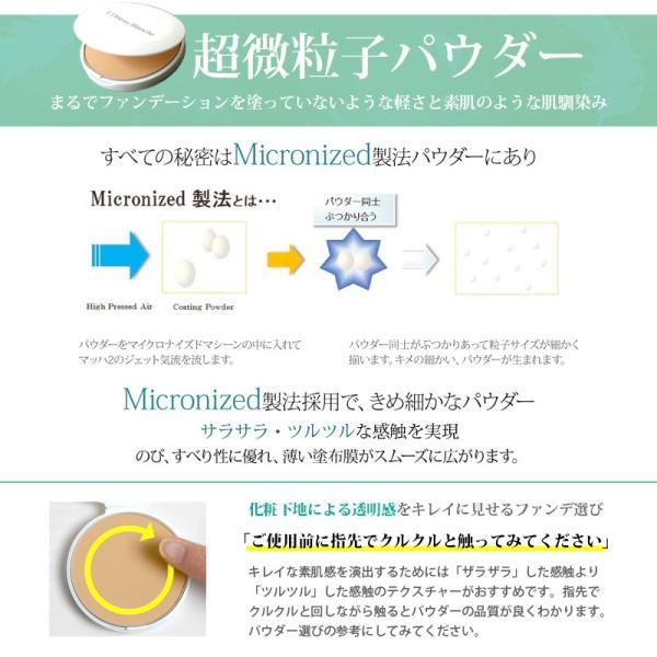 日本製 made in japan マイクロエアベール パウダーファンデーション レフィル 内容量9g ファンデーション 保湿 ヒアルロン酸 コラーゲン ツヤ 透明感 毛穴 国産|plaisir-shop|11