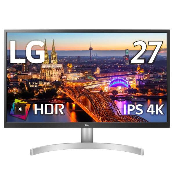 LG ゲーミング モニター ディスプレイ 27UL500-W 27インチ/4K/HDR(標準輝度:300cd/m2)/IPS非光沢/HDMI×2、DisplayPort/FreeSync/ブルーライト低減|plaisir
