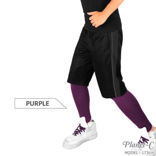 スポーツレギンス メンズ トレーニング ランニング タイツ フィットネス ヨガウェア インナー ダンス スポーツウェア サッカー 送料無料 pc-1201|planet-c|08