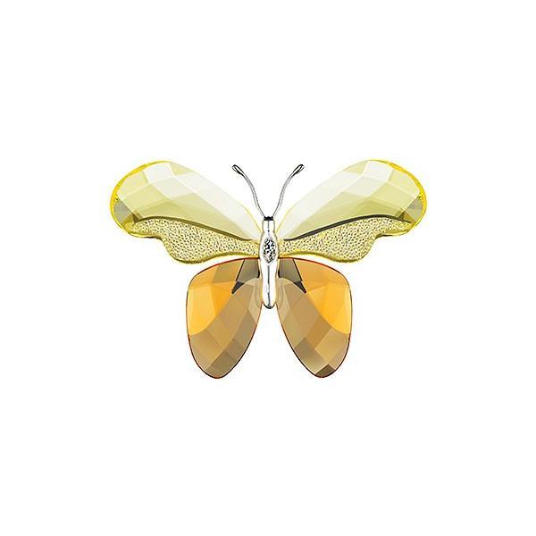 スワロフスキー Swarovski クリスタル 蝶 『Almina, Jonquil』 861934