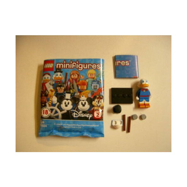 LEGO レゴ ディズニー シリーズ 2 ドナルドダック ミニフィギュア 71024