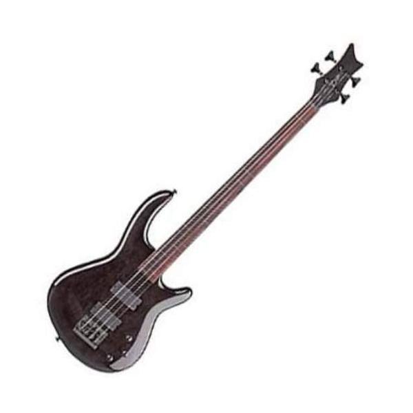 ディーンDean Edge 4 Bass, Trans Black|planetdream-sports