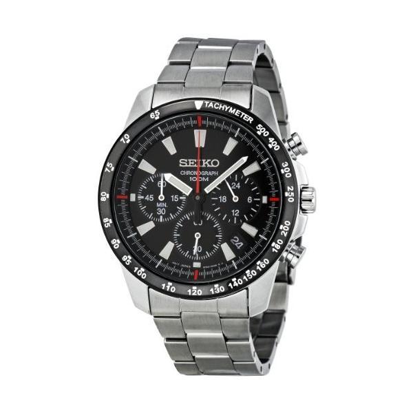 当店1年保証 セイコーSeiko SSB031 Men's Chronograph Stainless Steel Case Watch planetdream