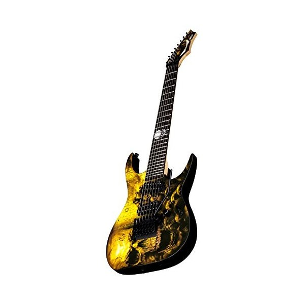 ディーンDean RC7X SKLZ Rusty Cooley 7-String Solid-Body Electric Guitar, Skullz|planetdream|04