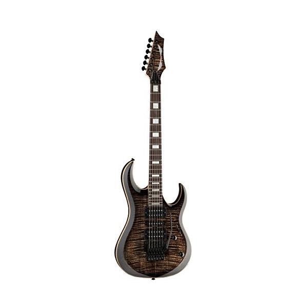 ディーンDean MAB3 FM TBK Michael Batio Flame Top Solid-Body Electric Guitar, Trans Black|planetdream