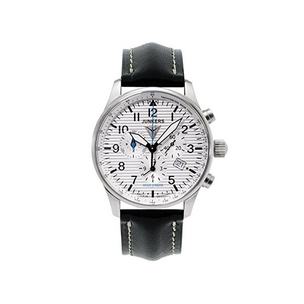 当店1年保証 ユンカースJunkers 150 Years Hugo Junkers Chronograph Alarm Watch 6684-1|planetdream|01