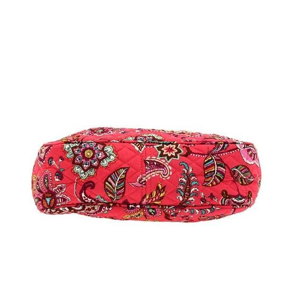 ヴェラブラッドリーVera Bradley Reversible Tote Bag Purse Call Me Coral