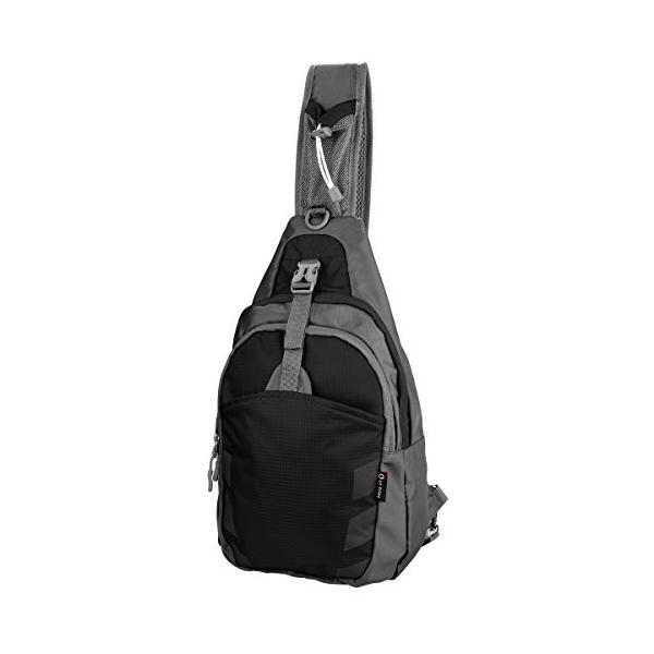 Sling Bag Chest Shoulder Unbalance Gym Funny Backpack Sack Satchel Outdoor Bike