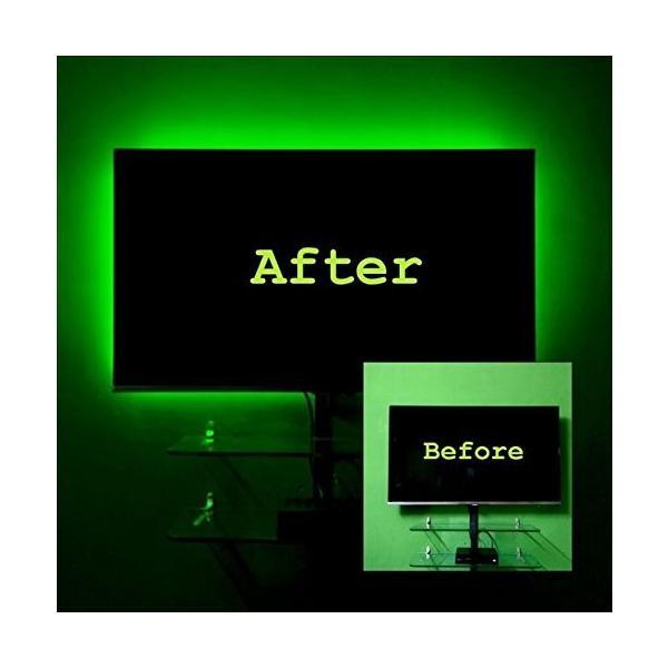 プロジェクターランプBias Lighting for TV. Derlson LED Strip Lights/USB Backlight Kit for Home-Theater,Under Cabinet, Mon|planetdream|05