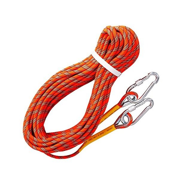 20m Rock Climbing Rope Outdoor Safety Mountain Rescue Escape Auxiliary Rope