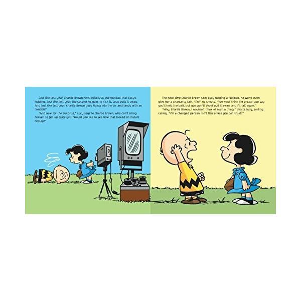 海外製絵本Kick the Football, Charlie Brown! (Peanuts)|planetdream|02
