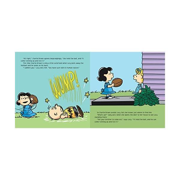 海外製絵本Kick the Football, Charlie Brown! (Peanuts)|planetdream|03