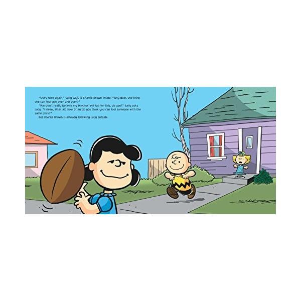 海外製絵本Kick the Football, Charlie Brown! (Peanuts)|planetdream|04