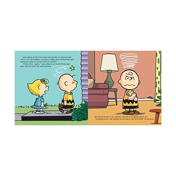 海外製絵本Kick the Football, Charlie Brown! (Peanuts)|planetdream|05