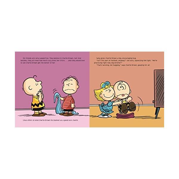 海外製絵本Kick the Football, Charlie Brown! (Peanuts)|planetdream|06