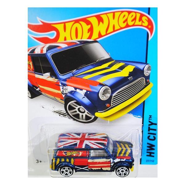 ホットウィールHot Wheels 2015 HW City '67 Austin Mini Van 27/250, Blue|planetdream|04