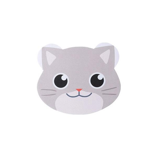 メガネ拭き 10枚入り レンズクロス 眼鏡拭き かわいい 動物 猫 ネコ