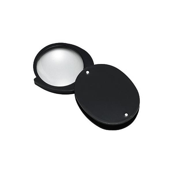 ルーペ 拡大鏡 高倍率 4倍 36mm L-45L 日本製 クリアー光学
