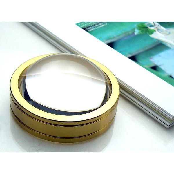 ルーペ 拡大鏡 高倍率 3倍 65mm PO-367 日本製 クリアー光学