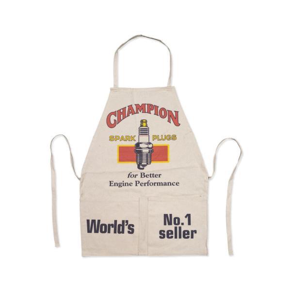 ワークエプロン おしゃれ ポケット メンズ レディース コットン ガーデニング キッチン DIY アメリカン チャンピオン CHAMPION