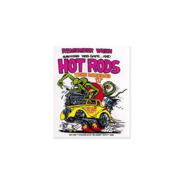 ラットフィンク ステッカー 車 アメリカン キャラクター おしゃれ バイク ヘルメット かっこいい RatFink モンスター HOT RODS_SC-RDUSA004-MON