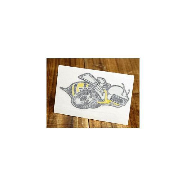 ステッカー 車 ダッジ アメリカン おしゃれ バイク ヘルメット かっこいい 復刻 DODGE スーパー・ビー SUPER BEE 転写式 右向き メール便OK_SC-DD244-MON