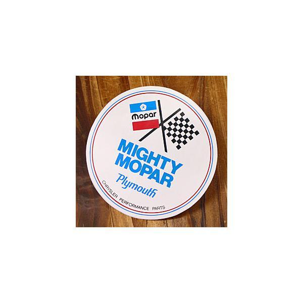 ステッカー 車 モパー アメリカン おしゃれ バイク ヘルメット かっこいい 復刻 クライスラー MIGHTY MOPAR メール便OK_SC-DD139-MON