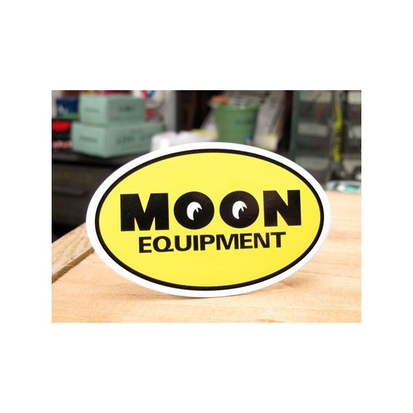 ムーンアイズ ステッカー 車 アメリカン おしゃれ バイク ヘルメット かっこいい ホットロッド MOONEYES ムーンイクイップメント メール便OK_SC-DM170YE-MON