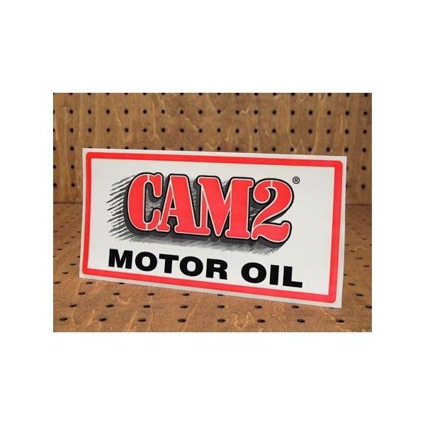 ステッカー 車 アメリカン おしゃれ バイク ヘルメット かっこいい オイル CAM2 MOTOR OIL メール便OK_SC-L968-SXW