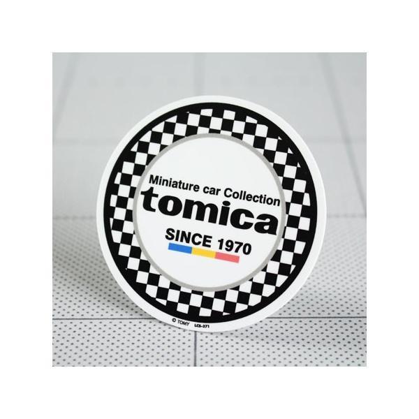 ステッカー 車 バイク かっこいい おしゃれ ヘルメット アメリカン カーステッカー レトロ 昭和 ミニカー トミカ tomica メール便OK_SC-LCS371-GEN