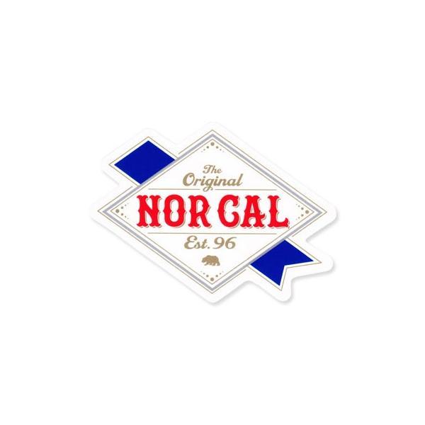 ステッカー ブランド スケボー スケートボード ストリート系 アメリカン 車 バイク アウトドア スーツケース かっこいい ノーカル NOR CAL The Original