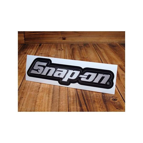 スナップオン ステッカー 車 アメリカン おしゃれ バイク ヘルメット かっこいい レンチ ツール 工具 Snap-on メール便OK_SC-SN002-FNM