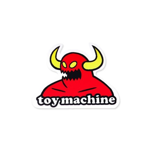 ステッカー ブランド スケボー スケートボード ストリート系 アメリカン 車 バイク アウトドア スーツケース おしゃれ かっこいい トイマシーン Toy Machine 01