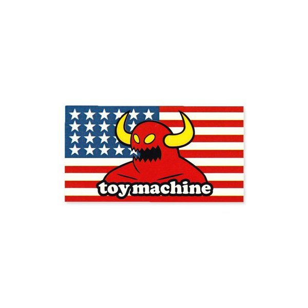 ステッカー ブランド スケボー スケートボード ストリート系 アメリカン 車 バイク アウトドア スーツケース おしゃれ かっこいい トイマシーン Toy Machine 03